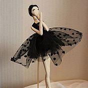Куклы и игрушки ручной работы. Ярмарка Мастеров - ручная работа Кукла балерина. Handmade.
