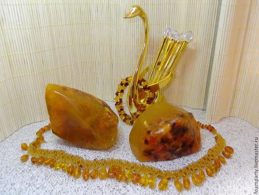 """Мыло ручной работы. Ярмарка Мастеров - ручная работа. Купить Мыло 3D """"Самоцветы. Янтарь"""". Handmade. Оранжевый, масла базовые"""