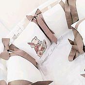 Текстиль ручной работы. Ярмарка Мастеров - ручная работа Бортики в кроватку. Handmade.