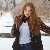 Одежда ручной работы. Ярмарка Мастеров - ручная работа Зимнее пальто Зарница. Handmade.