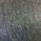 Материалы для творчества handmade. Livemaster - original item Mix of Gotland Cardoons NC.Grey-black. Germany. wool for felting. Handmade.