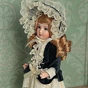 Винтаж ручной работы. Ярмарка Мастеров - ручная работа Винтажная фарфоровая кукла в викторианском стиле. Handmade.