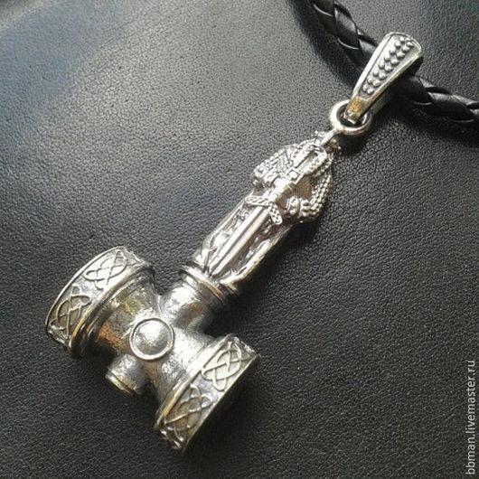 КУлон `Мьёлльнир` (молот Тора) - серебро 925