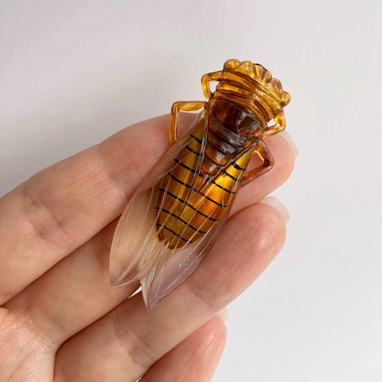 Винтаж: Брошь пчела, Броши винтажные, Салтыковка,  Фото №1