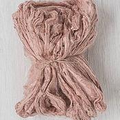 Ткани ручной работы. Ярмарка Мастеров - ручная работа Шелковые платочки 10 гр ракушка. Handmade.
