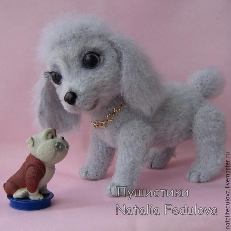 Toy handmade in padarok, toy dog, dog toy, poodle, knit toy, crocheted dog, crocheted dog, crocheted dog, crocheted dog