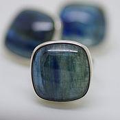 Украшения handmade. Livemaster - original item Jewelry set with kyanite