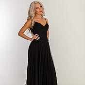 Одежда handmade. Livemaster - original item Black evening dress. Handmade.