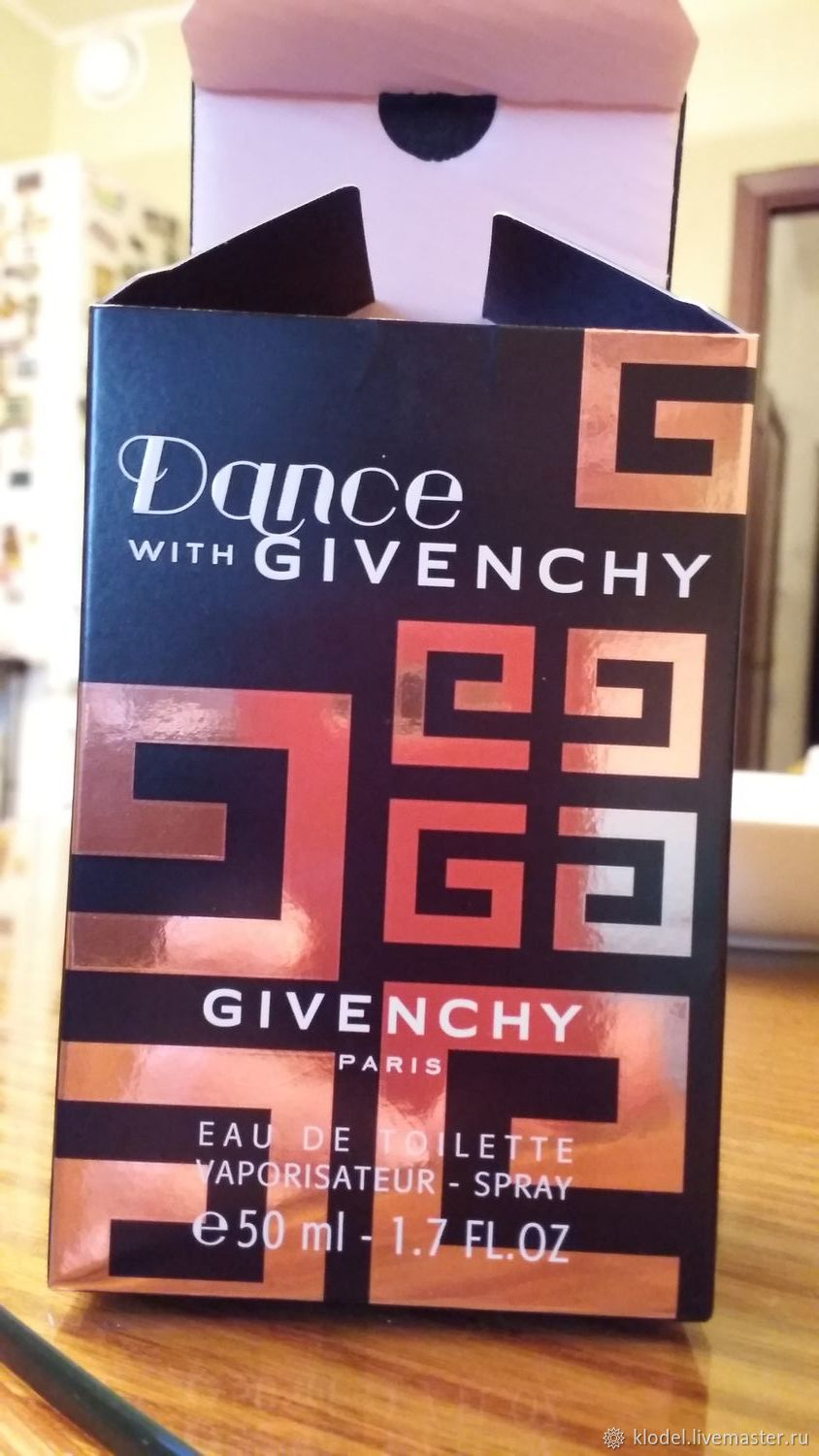 Dance with Givenchy, Туалетная вода, Москва,  Фото №1