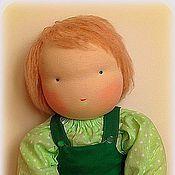 Куклы и игрушки ручной работы. Ярмарка Мастеров - ручная работа Вальдорфская кукла-мальчик 50-52 см. Handmade.