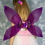 Одежда детская handmade. Livemaster - original item Carnival wings for girls. Handmade.