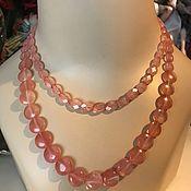 Винтаж handmade. Livemaster - original item Liz Claiborne double-row Choker with toggle clasp. Handmade.