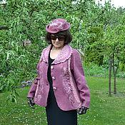 Одежда ручной работы. Ярмарка Мастеров - ручная работа куртка валенная. Handmade.