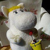 Куклы и игрушки ручной работы. Ярмарка Мастеров - ручная работа Игрушка Фрекен Снорк. Handmade.