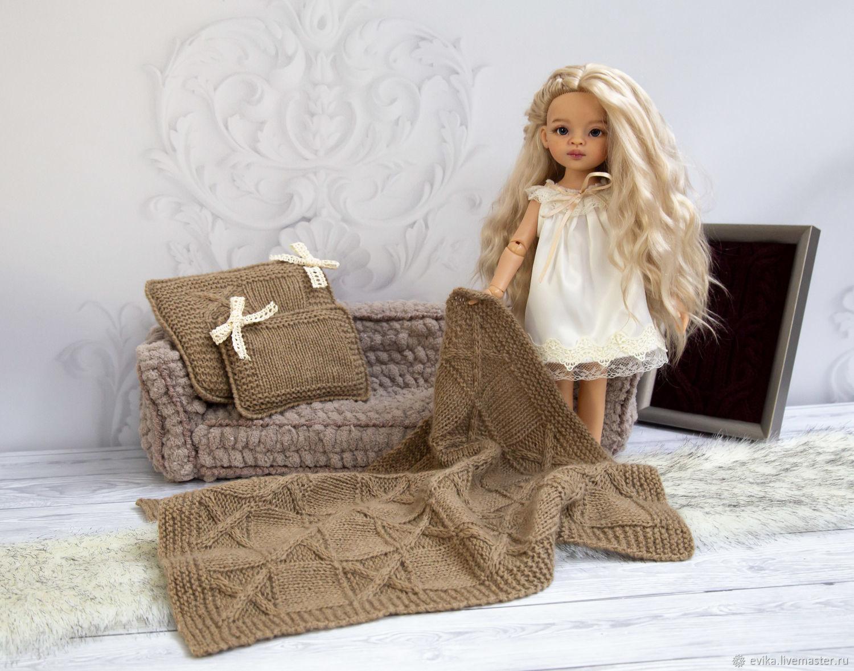 Плед и подушки для куклы, Одежда для кукол, Симферополь,  Фото №1