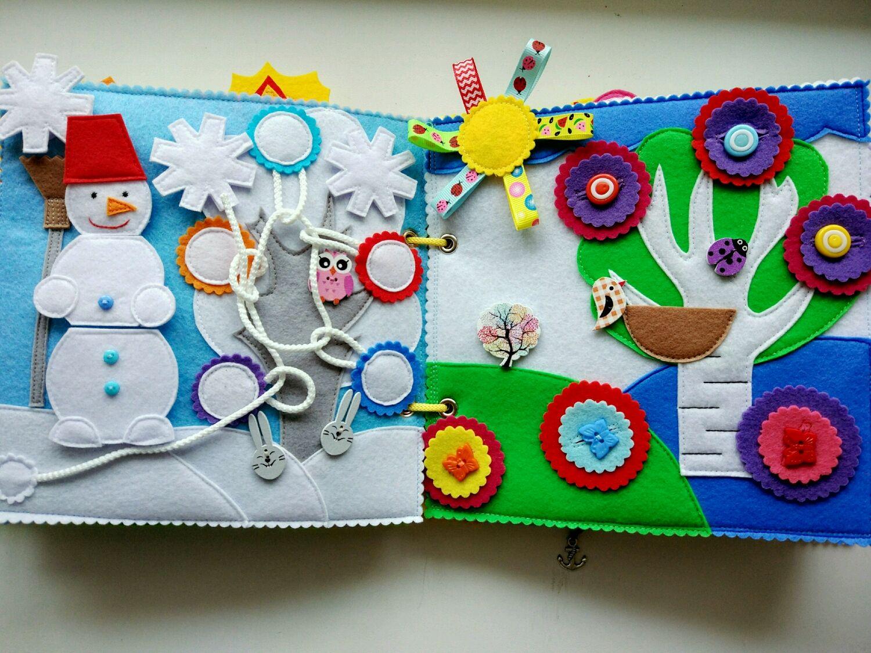 Детские книжки из фетра своими руками фото 34