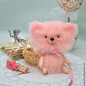 """Куклы и игрушки ручной работы. Ярмарка Мастеров - ручная работа Миниатюрная мишка """"Рози"""". Handmade."""