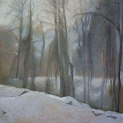 Картины ручной работы. Ярмарка Мастеров - ручная работа Картины: Мрачный лес. Handmade.