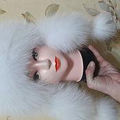 Одежда ручной работы. Ярмарка Мастеров - ручная работа Женская меховая шапка  Ушанка. Handmade.