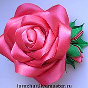 Украшения ручной работы. Ярмарка Мастеров - ручная работа Брошь роза. Handmade.