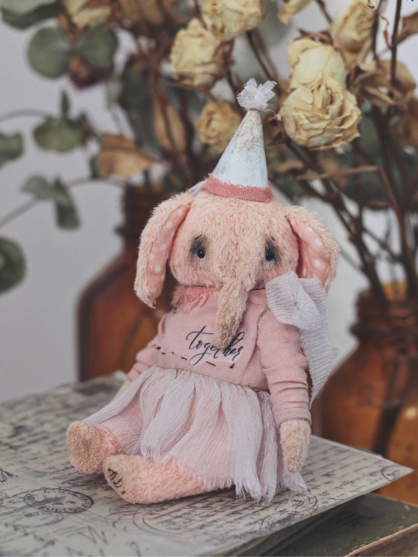 Мия. Тедди Слон 13 см, Тедди Зверята, Челябинск,  Фото №1