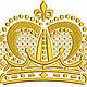 Иллюстрации ручной работы. Ярмарка Мастеров - ручная работа. Купить королевская корона дизайн машинной вышивки. Handmade. Подарок для ребенка