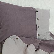 Для дома и интерьера handmade. Livemaster - original item Flax.Bed set