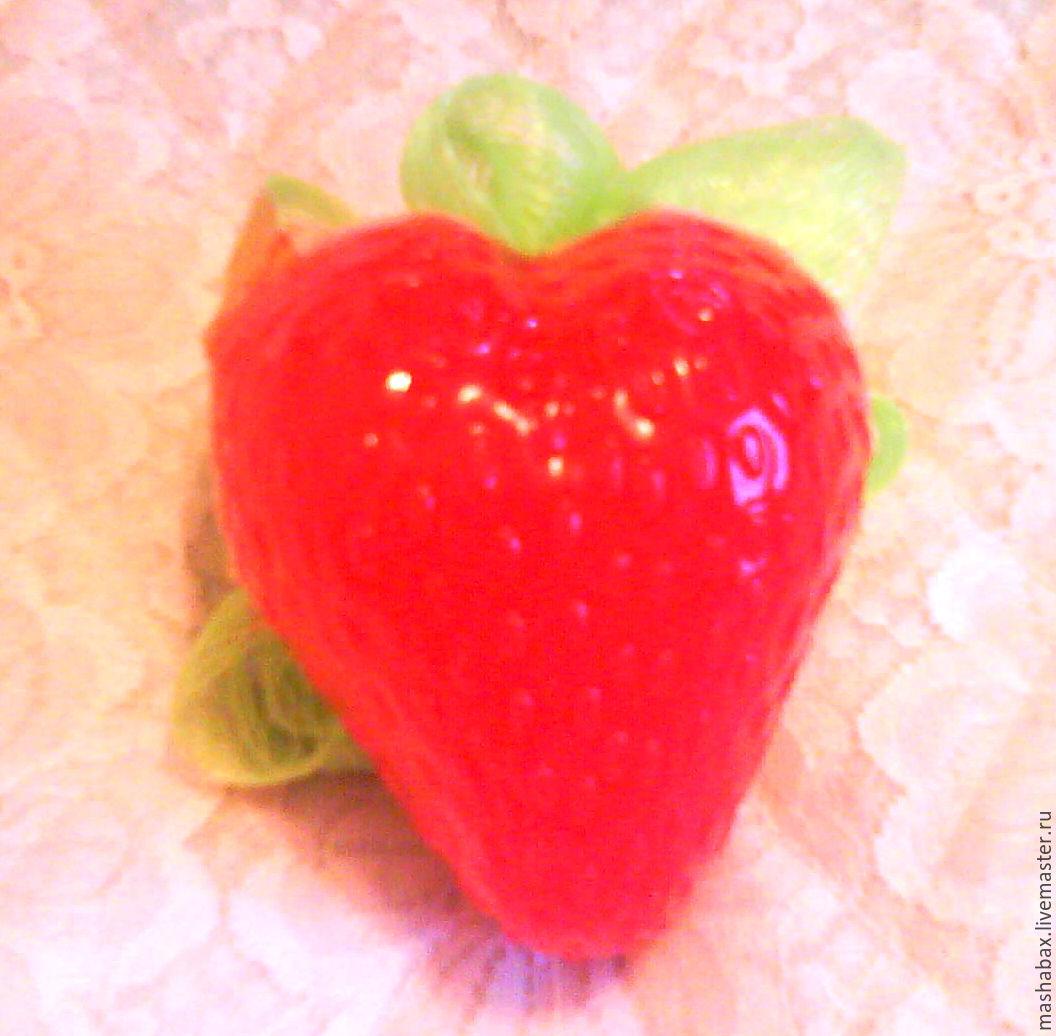 Soap -  sponge Strawberry, Soap, Krasnodar,  Фото №1