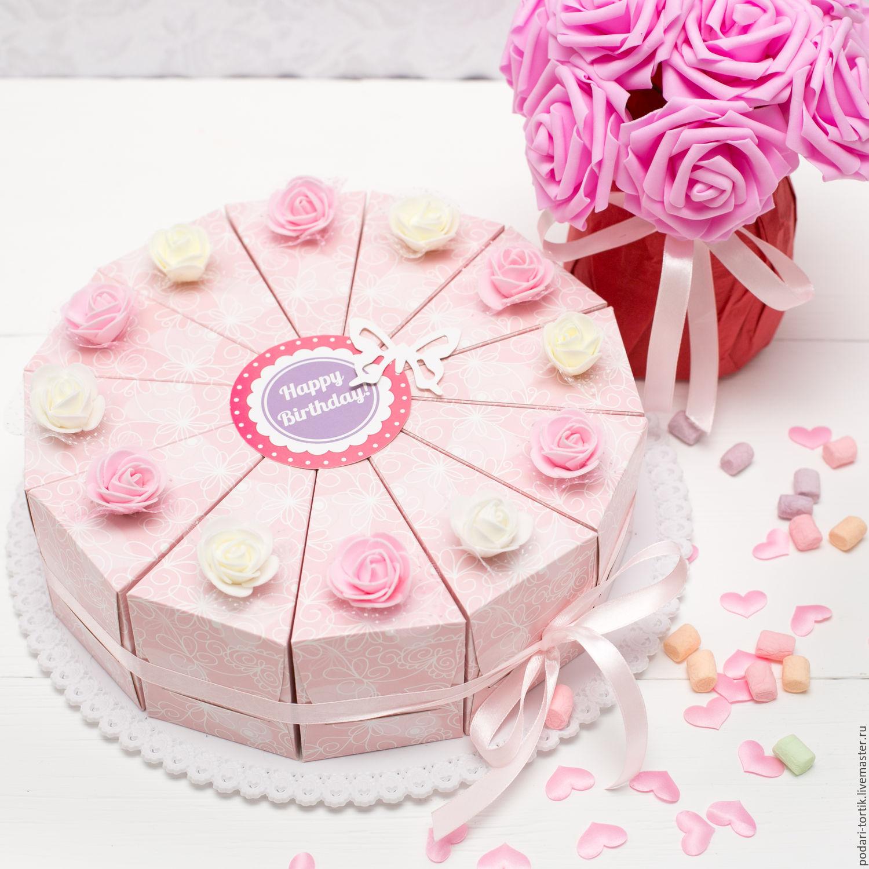 Бумажное торт своими руками