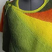 """Аксессуары handmade. Livemaster - original item shawl - Cape """"Maple leaf"""". Handmade."""