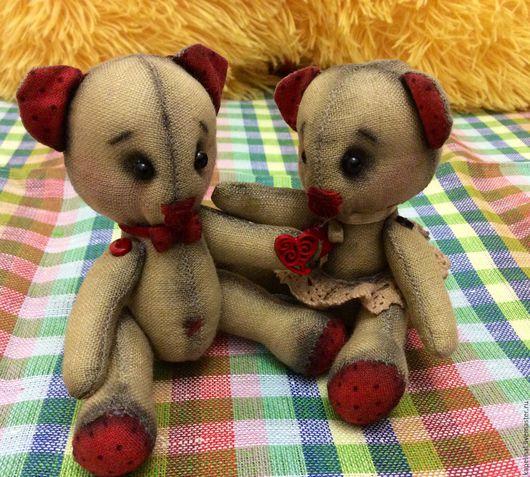 Игрушки животные, ручной работы. Ярмарка Мастеров - ручная работа. Купить Мишки Тедди. Handmade. Бежевый, ейск, капелина людмила