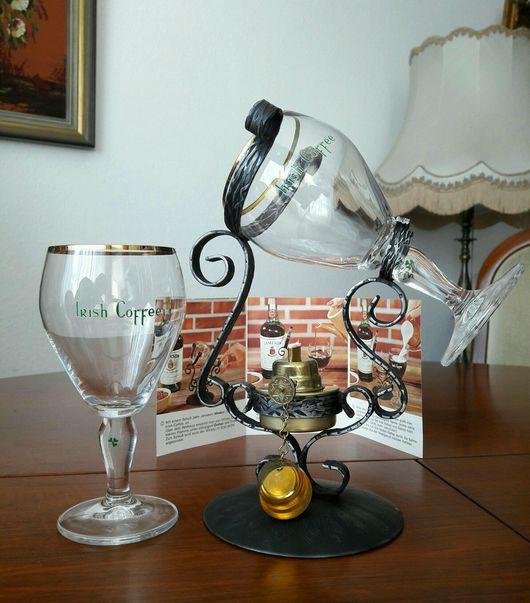 Винтажная посуда. Ярмарка Мастеров - ручная работа. Купить Продан. Винтажный набор для Айриш кофе. Handmade. Кофе, металл