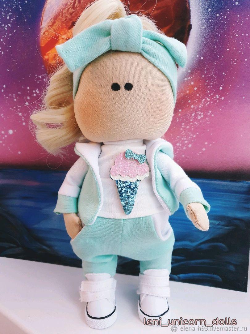 Интерьерная кукла Милана Ice cream, Куклы Тильда, Санкт-Петербург,  Фото №1