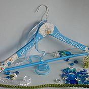 Для дома и интерьера ручной работы. Ярмарка Мастеров - ручная работа Вешалка - плечики для одежды  Свадебные орхидеи. Handmade.