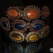 """Украшения ручной работы. Ярмарка Мастеров - ручная работа Браслеты Regaliz """"Трио"""" золотистый. Handmade."""