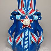 Сувениры и подарки handmade. Livemaster - original item Carved candle handmade.Interior candle.29. Handmade.