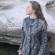 """Одежда ручной работы. Ярмарка Мастеров - ручная работа Жакет """"Черненое золото"""". Handmade."""