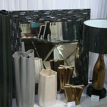 Для дома и интерьера ручной работы. Ярмарка Мастеров - ручная работа Зеркало в мозаичной раме, синяя ночь. Handmade.