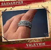 Украшения ручной работы. Ярмарка Мастеров - ручная работа Кольцо  викингов с драконом в стиле рингерике. Handmade.