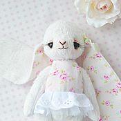 Куклы и игрушки handmade. Livemaster - original item Teddy Animals: Bunny Teddy Marshmallow. Handmade.