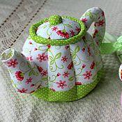 Посуда ручной работы. Ярмарка Мастеров - ручная работа Текстильный чайник. Handmade.