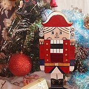 Подарки к праздникам handmade. Livemaster - original item Large Nutcracker made of wood, the best Christmas gift. Handmade.