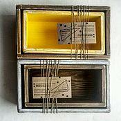 Для дома и интерьера ручной работы. Ярмарка Мастеров - ручная работа Ящички-оганайзеры в стиле шебби. Handmade.
