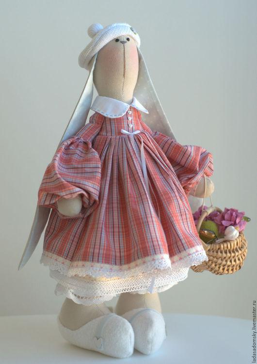 Игрушки животные, ручной работы. Ярмарка Мастеров - ручная работа. Купить Зайка Fa  - текстильная игрушка  ( 38 cм ). Handmade.