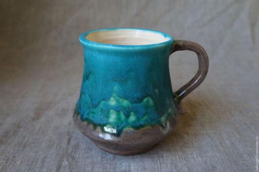 Кружки и чашки ручной работы. Ярмарка Мастеров - ручная работа. Купить Очень большая кружка или маленький кувшинчик. Handmade.