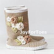"""Обувь ручной работы. Ярмарка Мастеров - ручная работа Сапожки для улицы """"Boho"""". Handmade."""