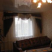 Для дома и интерьера ручной работы. Ярмарка Мастеров - ручная работа Шторы для гостинной Светлана. Handmade.