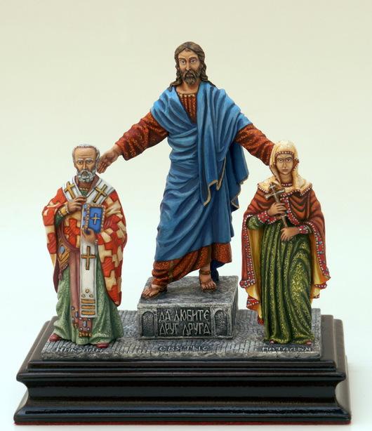 На фото пример композиции: муж Николай, жена Наталья.