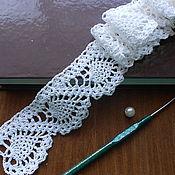 Для дома и интерьера ручной работы. Ярмарка Мастеров - ручная работа кружево вязанное. Handmade.