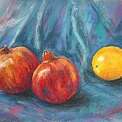 """Картины и панно ручной работы. Ярмарка Мастеров - ручная работа Картина """"Гранаты"""". Handmade."""